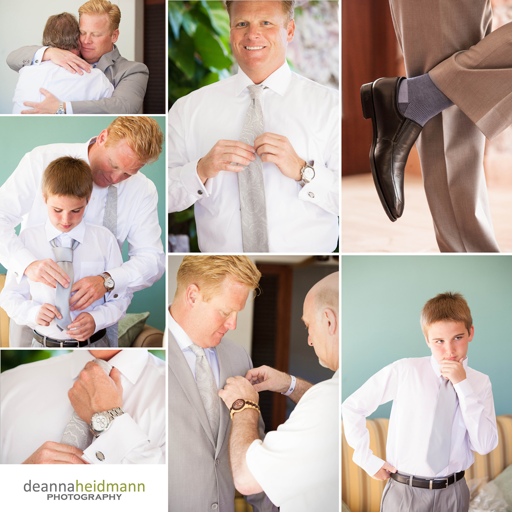 Ad Mich wedding prep collage 4