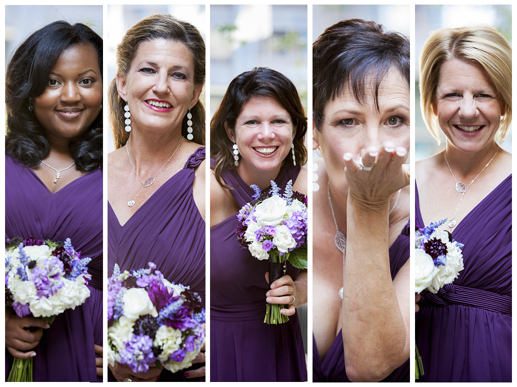 10 Collage bridesmaids
