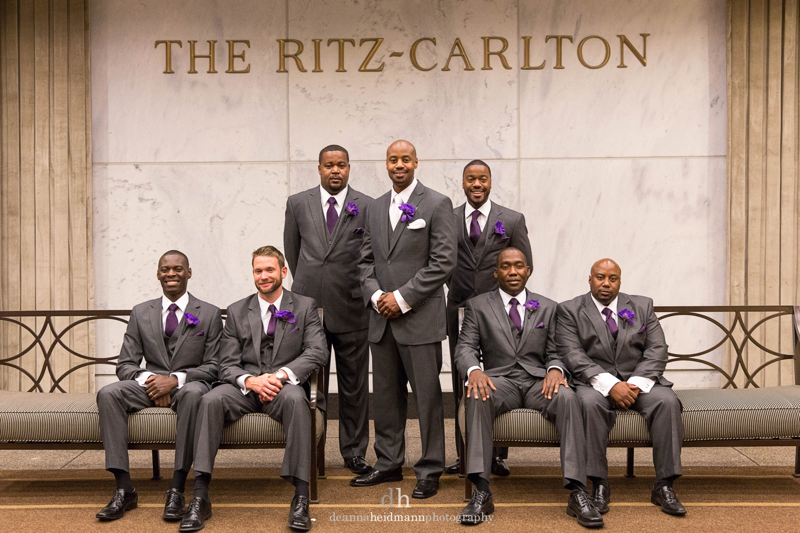 Collage Ritz groomsmen